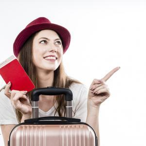 Travel insurance - red passport